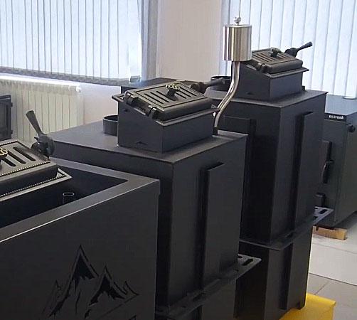 Печь Эверест INOX с парогенератором