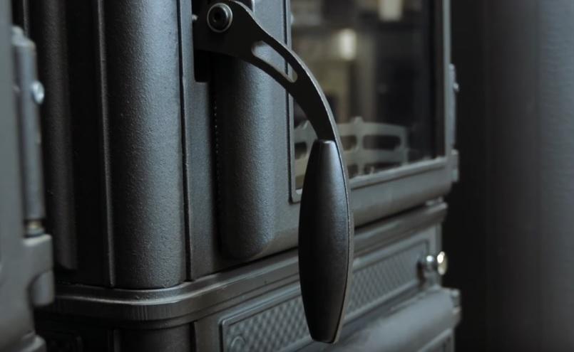 Ручка топочной дверцы печи Guca Lava