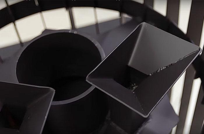 Воронки для подачи воды в закрытую каменку печи Grill'D Cometa Vega