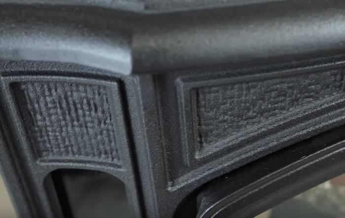 Чугунный корпус печь-камина Кратки КОЗА К9