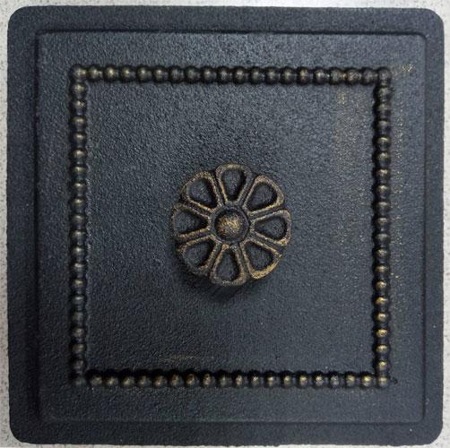 Прочистная печная дверца Везувий 235 (бронза)