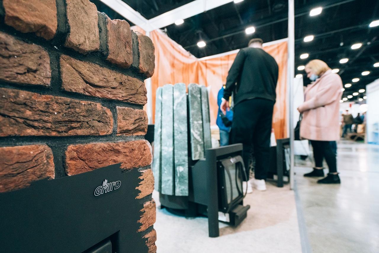 Банные печи Grill'D на выставке Строим дом в Экспофорум
